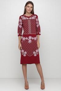 Платье вышитое Етномодерн М-1078-5