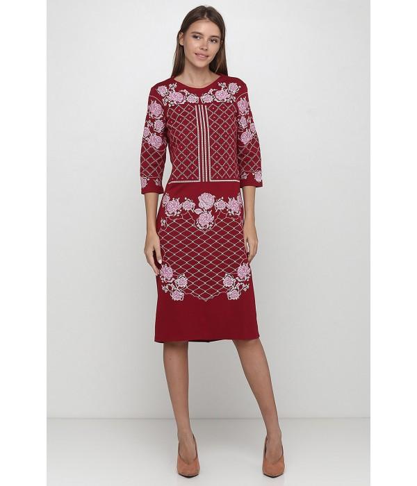 Платье вышитое Етномодерн М-1078-5, Платье вышитое Етномодерн М-1078-5 купити