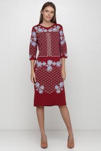 Платье вышитое женское М-1078-6