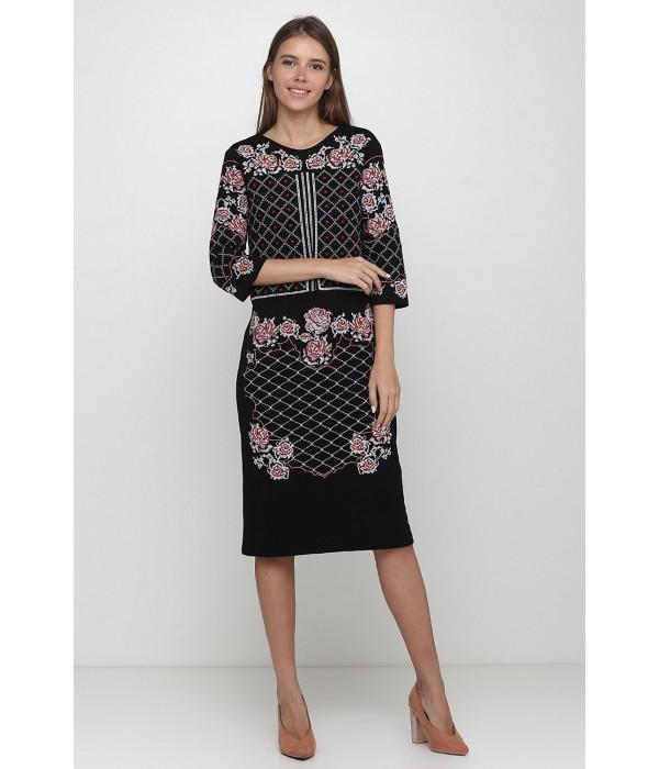 Платье вышитое Етномодерн М-1078, Платье вышитое Етномодерн М-1078 купити