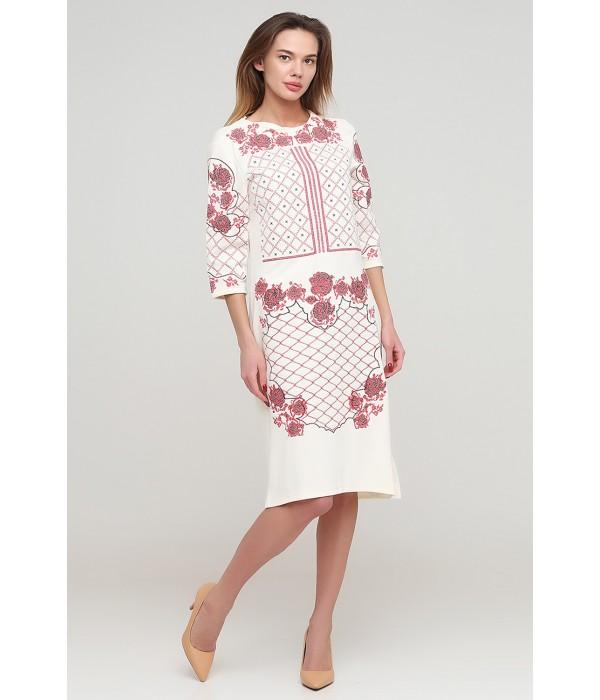 Платье вышитое женское М-1078-7, Платье вышитое женское М-1078-7 купити