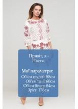 Платье вышитое женское М-1078-7