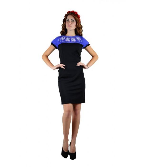 Платье «День-Ночь» М-1020-1, Платье «День-Ночь» М-1020-1 купити