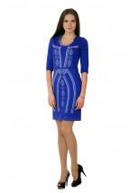 Плаття вишите хрестиком М-1022-3