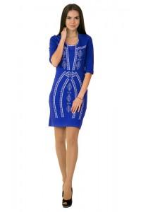 Платье вышитое крестиком М-1022-3