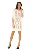 Плаття вишите хрестиком М-1022-5
