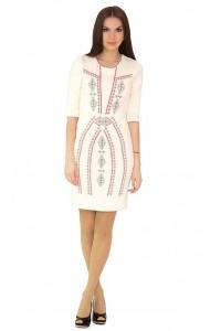 Платье вышитое крестиком М-1022-5