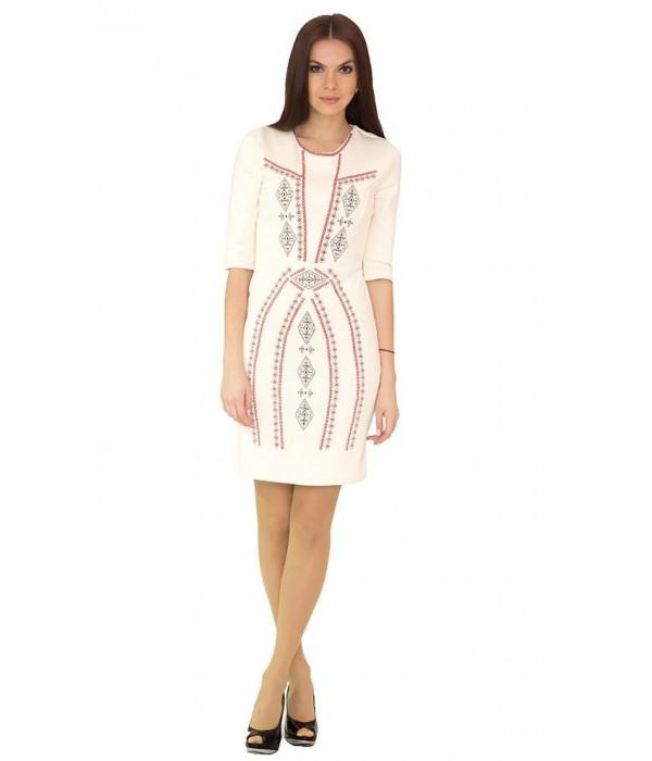 Плаття вишите хрестиком М-1022-5, Плаття вишите хрестиком М-1022-5 купити