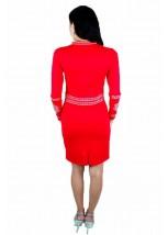 Плаття вишите хрестиком «Карпатське» М-1026-2