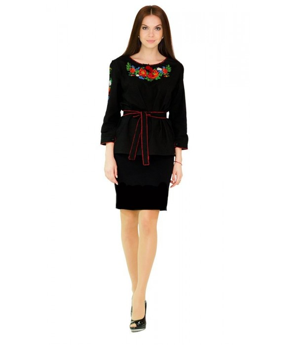 Сорочка вишита жіноча М-224, Сорочка вишита жіноча М-224 купити