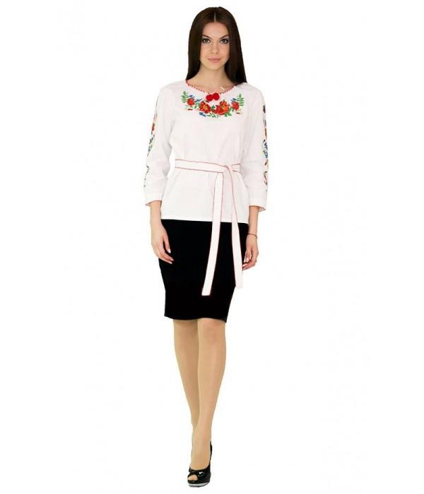 Сорочка вишита жіноча М-224-1, Сорочка вишита жіноча М-224-1 купити