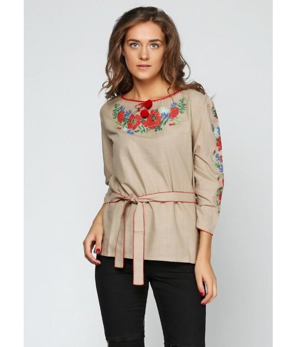 Сорочка вишита жіноча М-224-2, Сорочка вишита жіноча М-224-2 купити