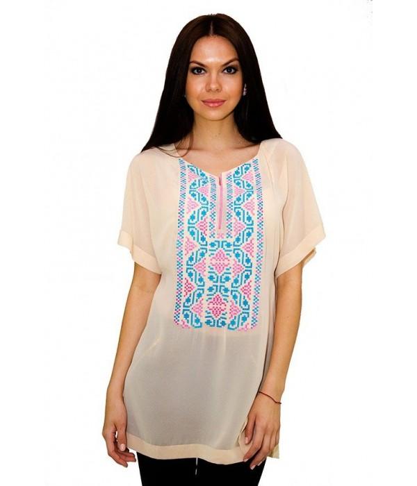 Сорочка вишита жіноча М-199 (пляма), Сорочка вишита жіноча М-199 (пляма) купити