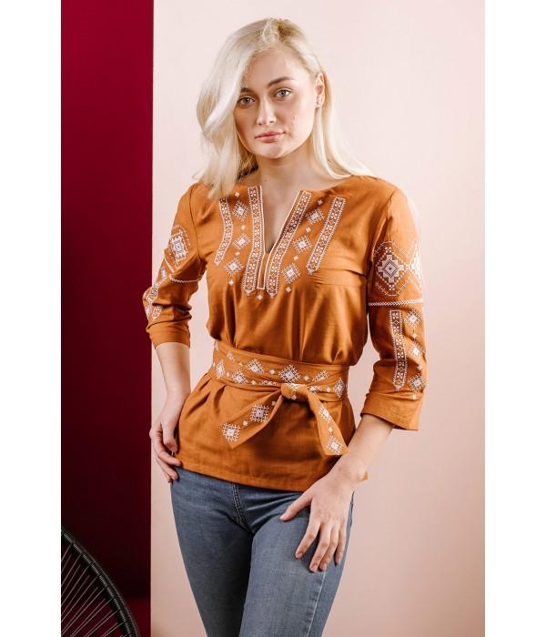Женская вышиванка  M-211-24 Традиция, Женская вышиванка  M-211-24 Традиция купити