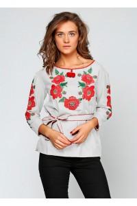 """Рубашка """"Цветочный венок"""" М-223-1"""
