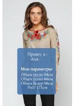 Сорочка вишита жіноча М-224-2