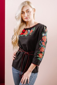 Сорочка вишита жіноча Етномодерн М-224