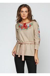 Рубашка вышитая женская М-224-2