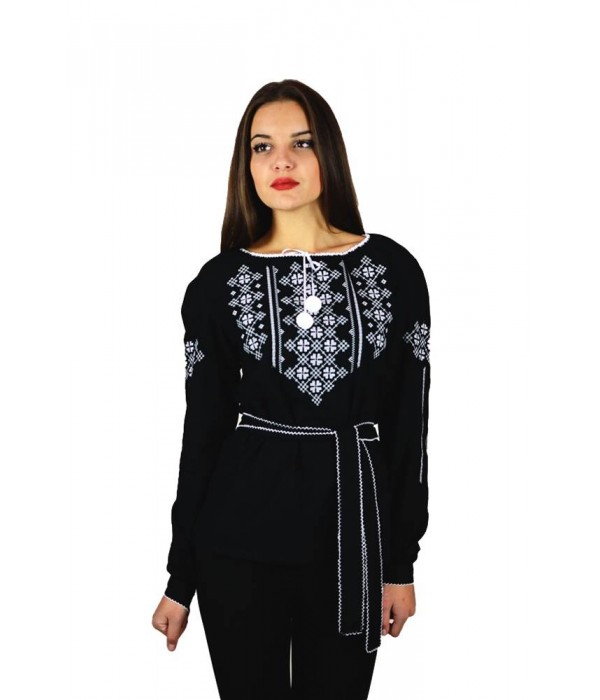 Рубашка вышитая женская М-225-1, Рубашка вышитая женская М-225-1 купити