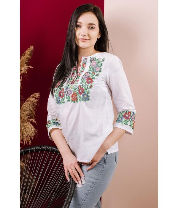 Рубашка вышитая женская Етномодерн М-226-1, Рубашка вышитая женская Етномодерн М-226-1 купити