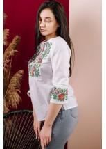 Рубашка вышитая женская Етномодерн М-226-1