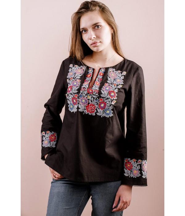 Рубашка вышитая женская М-226-3, Рубашка вышитая женская М-226-3 купити