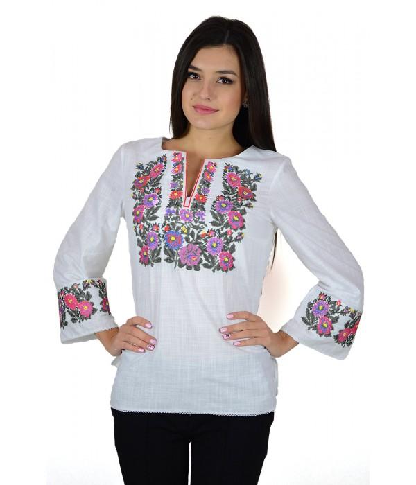 Рубашка вышитая женская М-226-4, Рубашка вышитая женская М-226-4 купити