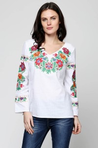 Рубашка вышитая женская Етномодерн М-228-1