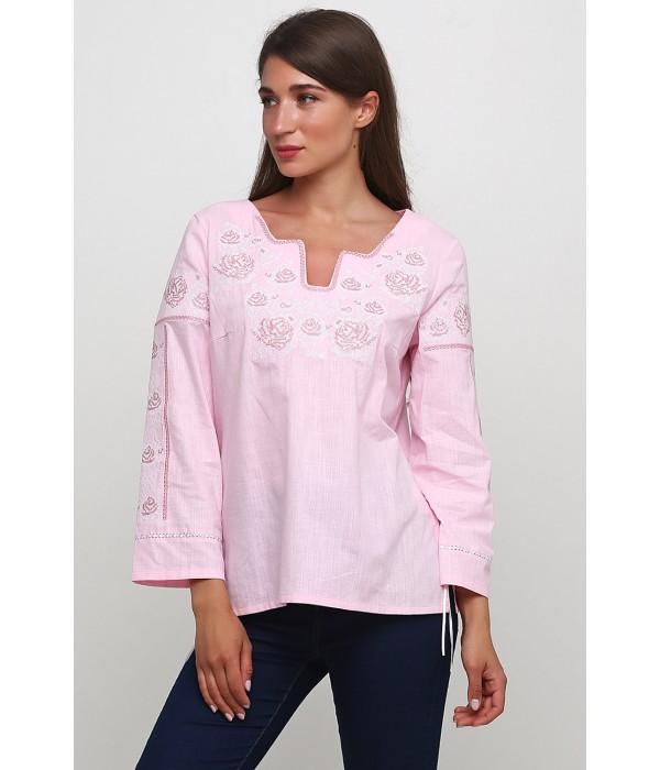 Женская вышитая рубашка  М-230-10, Женская вышитая рубашка  М-230-10 купити