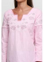 Женская вышитая рубашка  М-230-10