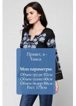 Рубашка вышитая женская М-230-6