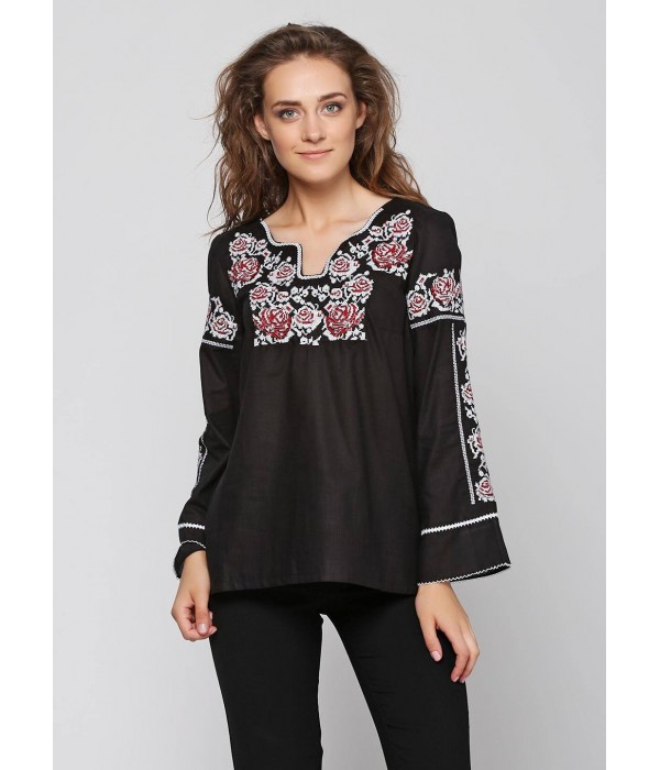 Рубашка вышитая женская М-230-7, Рубашка вышитая женская М-230-7 купити