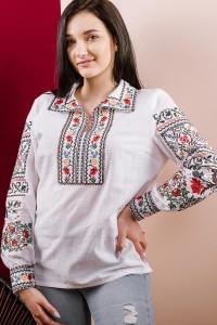 Рубашка вышитая женская Етномодерн М-231