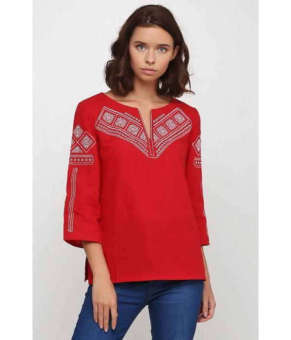 Рубашка вышитая женская Етномодерн M-232-4, Рубашка вышитая женская Етномодерн M-232-4 купити
