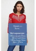 Сорочка вишита жіноча Етномодерн M-232-4