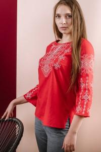 Рубашка вышитая женская Етномодерн M-233-8