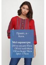 Сорочка вишита жіноча Етномодерн M-234-1