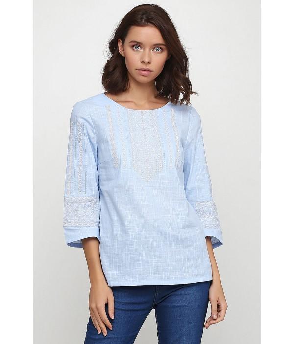 Рубашка вышитая женская Етномодерн M-234, Рубашка вышитая женская Етномодерн M-234 купити