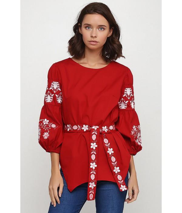 Рубашка вышитая женская Етномодерн M-235, Рубашка вышитая женская Етномодерн M-235 купити