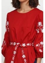 Рубашка вышитая женская Етномодерн M-235