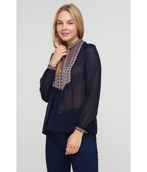 Блузка с вышивкой ЕтноМодерн M-236-2, Блузка с вышивкой ЕтноМодерн M-236-2 купити