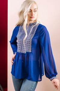 Женская вышиванка ЕтноМодерн M-236