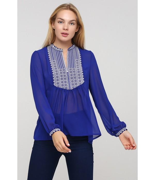 Блуза вышиванка ЕтноМодерн M-236, Блуза вышиванка ЕтноМодерн M-236 купити