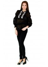 Рубашка вышитая женская Етномодерн М-310-3