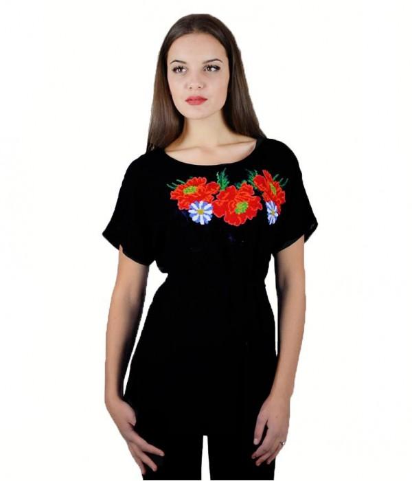 Рубашка вышитая женская М-311-7, Рубашка вышитая женская М-311-7 купити