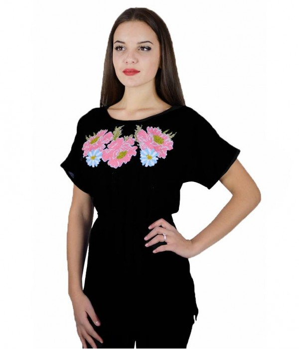 Рубашка вышитая женская М-311-9, Рубашка вышитая женская М-311-9 купити