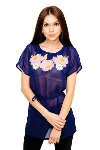 Рубашка вышитая женская М-311-2