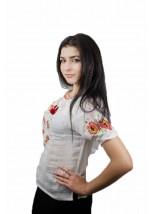 "Рубашка ""Маковый веночек"" М-219-1"
