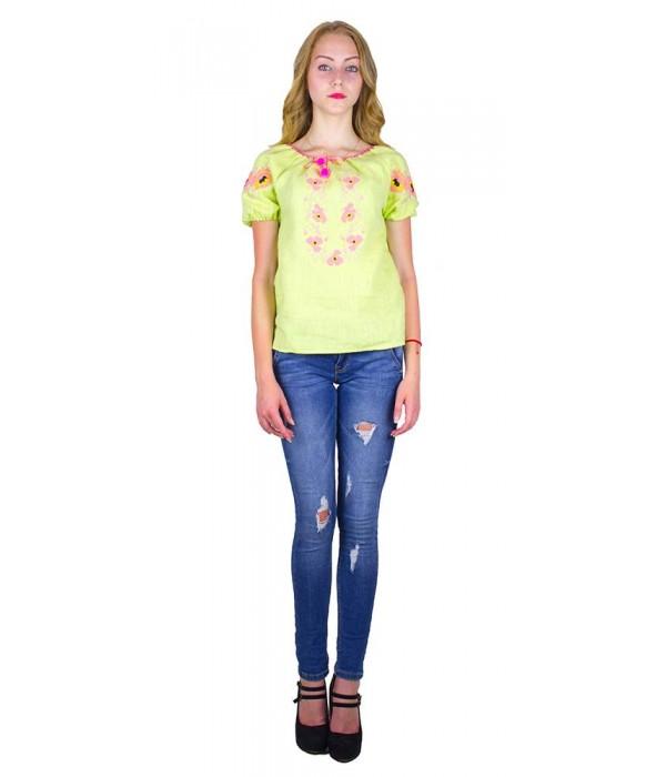 """Рубашка """"Маковый веночек"""" М-219-11, Рубашка """"Маковый веночек"""" М-219-11 купити"""