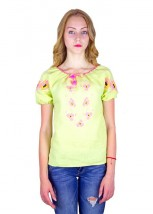 "Рубашка ""Маковый веночек"" М-219-11"